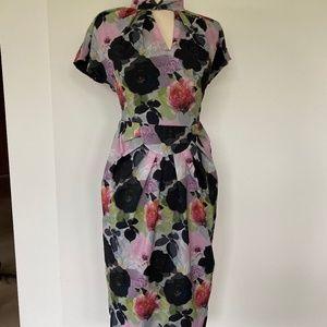 Lindy Bop Emma floral retro 40s dress 4